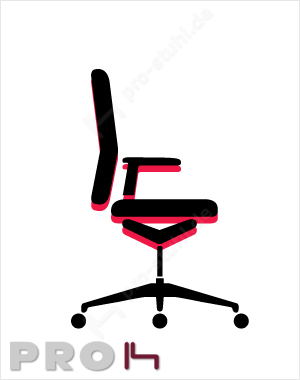 Interstuhl Sitzhöheneinstellung