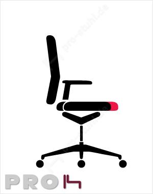 Interstuhl Sitztiefenverstellung