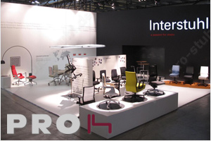 Interstuhl auf dem SaloneUfficio 2011