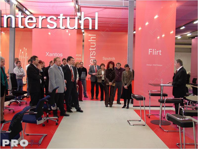 Neuer Showroom Interstuhl